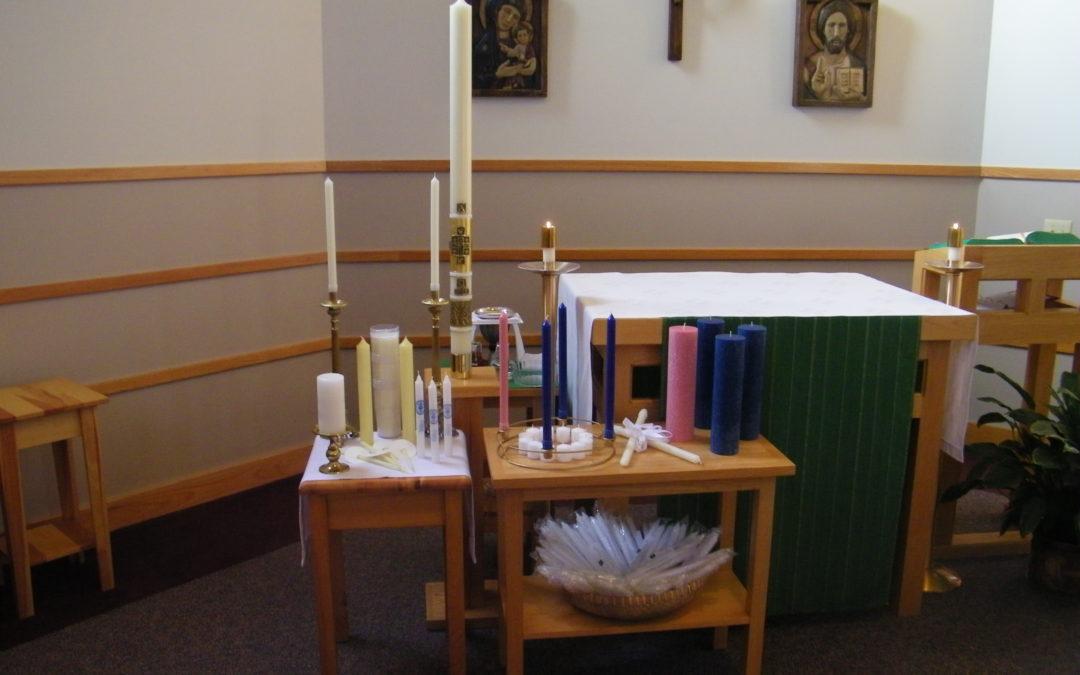Candle Mass, Feb. 2nd