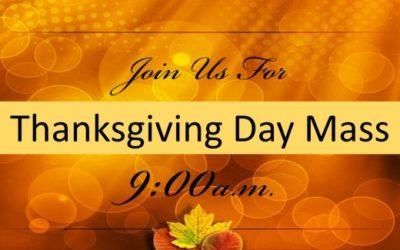 Thanksgiving Day Mass