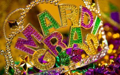Parish Mardi Gras Party!