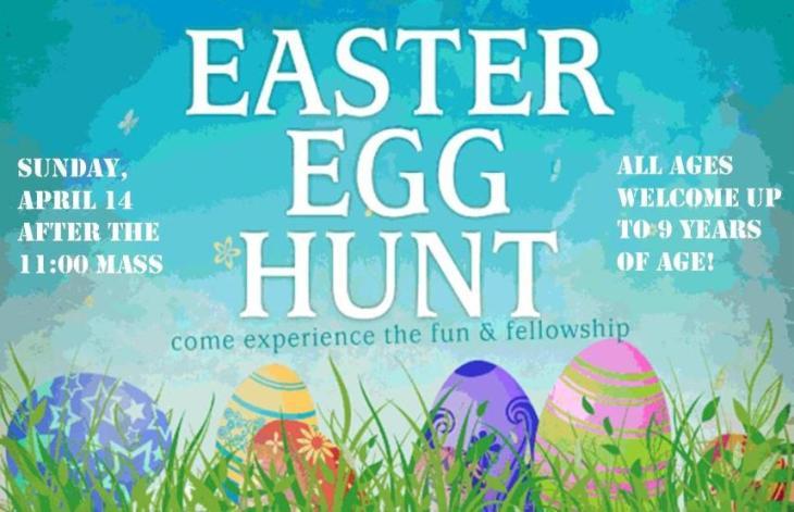 Easter Egg Hunt Items needed