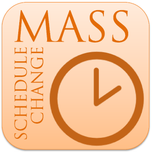 Mass Schedule Change