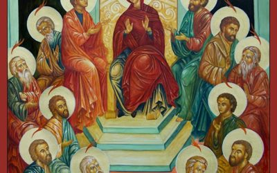 Wear Red to Church on Pentecost!