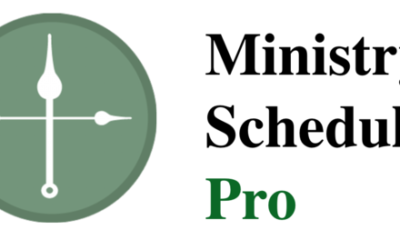 January-May Ministry Schedule