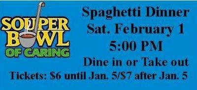 Souper Bowl of Caring Spaghetti Dinner
